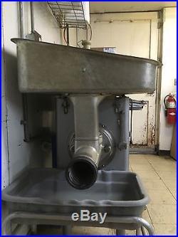 Hobart 4146 Electric 5HP Meat Grinder Used