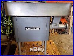 Hobart 4146 Meat Grinder New Seals Clean Fresh Oil Change Nice