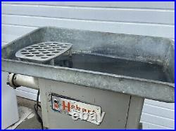 Hobart 4152 Commercial Stainless Steel 5HP Meat Grinder 3 Phase, 200V