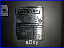 Hobart 4246 S meat grinder, food mixer, commercial butcher shop machine