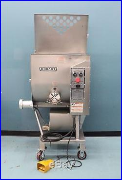 Hobart 4346 Mixer Grinder Meat Grinder With Foot Switch 7.5 Horse Power