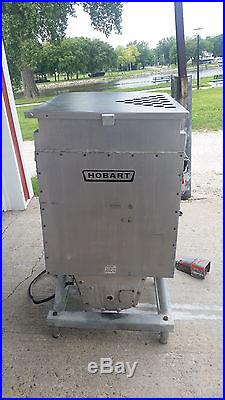 Hobart 4346 Mixer Meat Grinder Tested 200 Volt