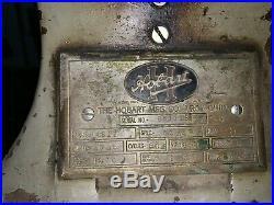 Hobart 4612 meat grinder
