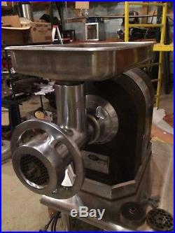 Meat Grinder For Sale >> Hobart 4722 Commercial Meat Grinder Heavy Duty Electric
