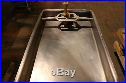 Hobart 4732A 40#/Minute Tabletop Meat Grinder Butcher Commercial Restaurant