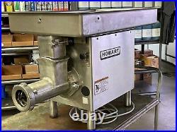 Hobart 4732A Commercial Meat Grinder, #32, 200 V, 3 Phase, 3HP