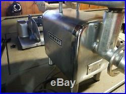 Hobart 4812 #12 Meat Grinder / Chopper 120V 1/2 hp NICE LOOK