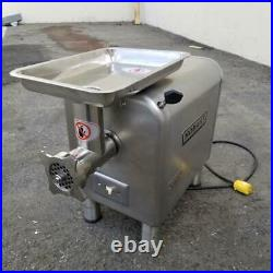 Hobart 4812 Commercial Meat Grinder Stainless Steel Attachment Hub #12 Head
