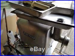 Hobart 4812 Countertop Meat Grinder / Chopper 1/2 Horse Power