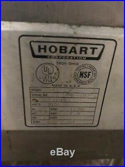 Hobart 4812 Meat Grinder 115volt