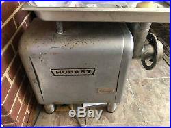 Hobart 4812 Meat Grinder Ready to work. Tested. Needs A Good Cleaning
