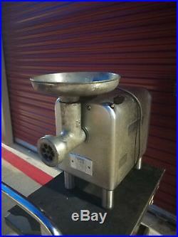 Hobart 4812 meat grinder, 120 V single phase, regular household plug