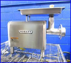 Hobart 4822 34 Commercial Countertop Meat Grinder Sausage Chopper, 120v