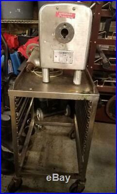 Hobart 4822 Counter-top Meat Grinder / Chopper 1.5 Horse Power