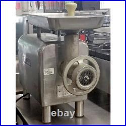 Hobart 4822 Meat Grinder, #22 Hub, 4 Legs, 10-20 Lbs/Minute, Stainless Feed Pan