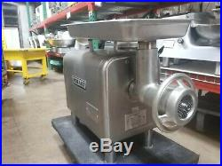 Hobart 4822 Meat Grinder, New Head, Worm, Ring, Plate, Knife & Pan. 3 Phase, 208