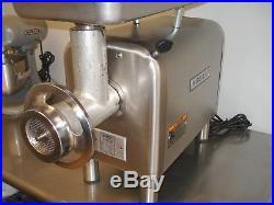 Hobart 4822 meat grinder, 120 volt, 1.5 HP OEM head and pan