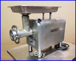 Hobart 4822 meat grinder, 200 volt 3 phase, OEM head and pan