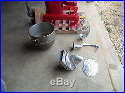 Hobart 60 Qt Dough Bakery Pizza Mixer H600 WITH MEAT GRINDER