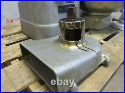 Hobart 84186 Buffalo Food Chopper Pelican Head Meat Grinder Processor 18 Bowl