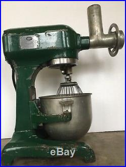 Hobart A120 Mixer 3 With Meat Grinder & Multiple Accessories