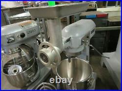 Hobart A200 Classic 20qt Countertop Mixer withAttachments & Meat Grinder 115v