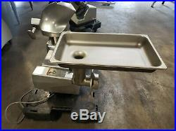 Hobart Buffalo Chopper Mode 84145 With Meat Grinder Attachment