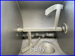 Hobart Commercial Meat grinder For Parts ONLY Works but damaged
