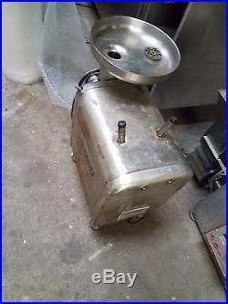 Hobart Commercial Mixer Meat Grinder Model No 4812 1 2 Hp