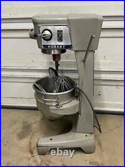 Hobart D 300 Mixer WithMeat Grinder & Pelican Head Slicer