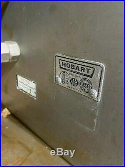 Hobart Floor Standing Commercial Heavy Duty Meat Sausage Grinder Parts/Repair