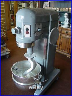 Hobart H 600 60qt Mixer With Bowl New Hook Beater Meat