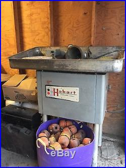 Hobart Industrial Meat Grinder