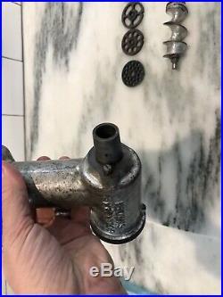 Hobart Kitchenaid Grinder Attachment Cast Iron Vintage Heavy Duty