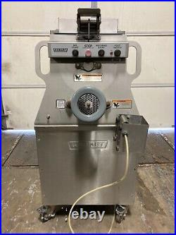 Hobart MG1532 150 pound Meat Mixer Grinder with Foot Pedal WORKS GREAT