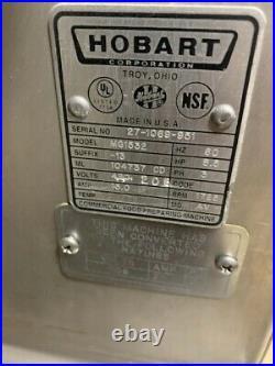 Hobart MG1532 150lb Meat Grinder