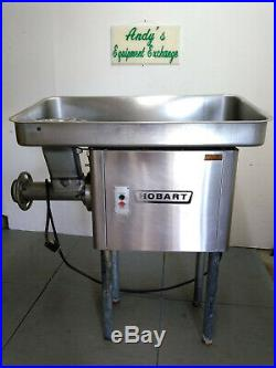 Hobart Meat Grinder 4146 SS, 60-65 lbs per minute