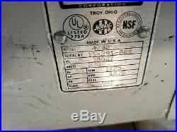 Hobart Meat Grinder 4732 3 H. P. 32 Grinder Head Single (1) Phase 220 Volt