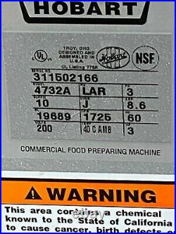 Hobart Meat Grinder 4732 A USED 3 HP