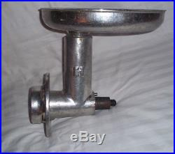 Hobart Meat Grinder Attachment For #12 With Basin Commercial Part