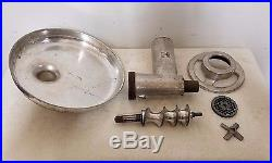 Hobart Meat Grinder Attachment With #12 Hub For Mixers and Buffalo Choppers