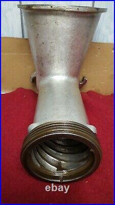 Hobart Meat Grinder Model 4152 Cylinder Head (Size #52) Very Hard to Find