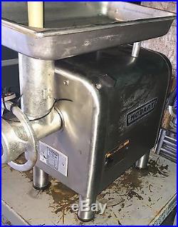 Hobart Meat Grinder Model 4812 1/2 HP 1725 RPM 7.5 Amps Warranty