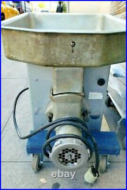 Hobart Meat Grinder model 4632 Used Great condition SINGLE PHASE #h-r-80