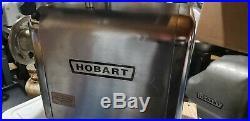 Hobart Meat Grinder model 4812 Butcher Restaurant Equipment Nice LOOK