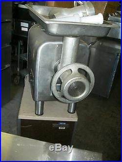 Hobart Meatgrinder, 1/2 Hp, C/t, 115v, New Front Gear, 900 Items On E Bay