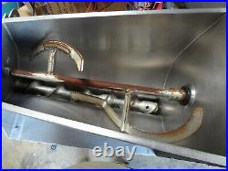 Hobart Mg2032 Meat Grinder & Mixer. Works Great
