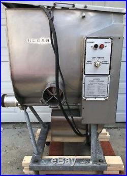 Hobart Mixer Grinder 4346 Meat Grinder 7.5 H. P Butcher Grinder with Foot Switch