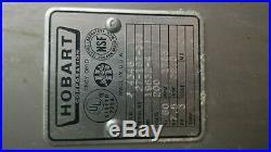 Hobart Mixer Meat grinder