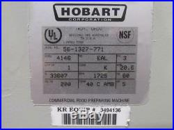 Hobart Model 4146 Commercial Meat Grinder Chopper 3 PH 200v